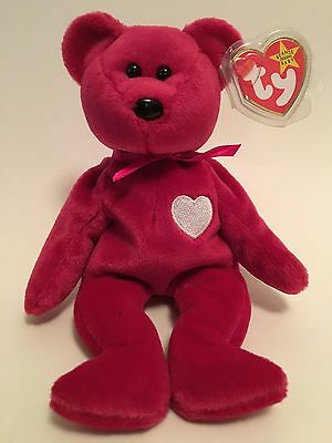 'VALENTINA' - TY Beanie Baby; 5th Generation Original 1998 / VERY RARE