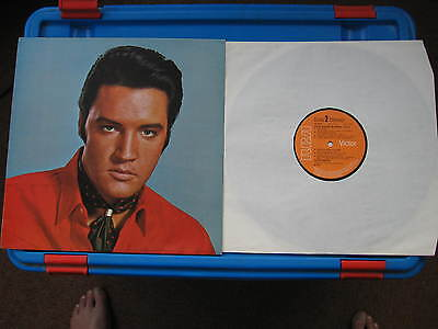 Elvis' Golden Records Vol 2  LP Record made in Germany, Sleeve UK, Orange Label