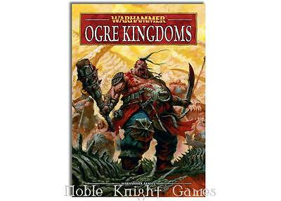 GW Warhammer Fantasy Warhammer Armies - Ogre Kingdoms (2011 Edition) HC NM