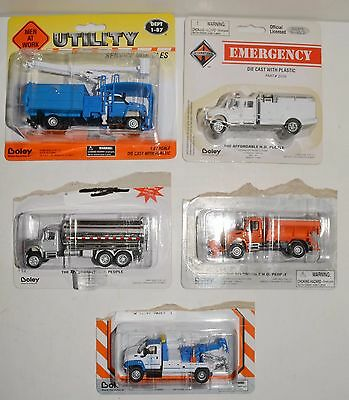 5 NEW in packages Boley HO Scale highly detailed trucks. LOT 17