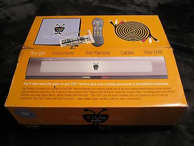 NEW BOX The Tivo Box Series 2 R2404A TCD24004A Recorder Remote Cables Pamphlets