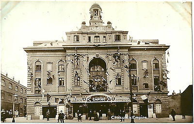 The Chiswick Empire Chiswick London. A Real Photographic (Rp) Postcard