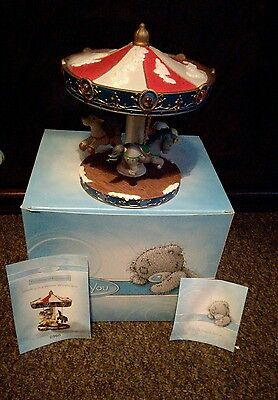 Me To You Figurine  Whirling In A Winter Wonderland 41169 limited edition rare!!