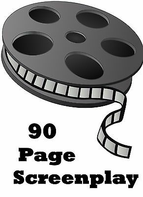 Full Screenplay Writing Service  - 90 Pages - Comes w/ Rights to Resell