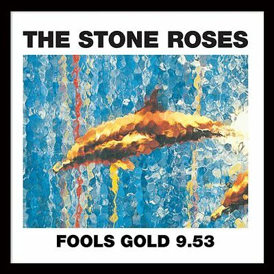 "The Stone Roses - Fools Gold - Framed 12"" Single Cover Print ACPPR48047"