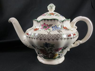 Spode Teapot Chinese Rose 2/9253 B England 7""