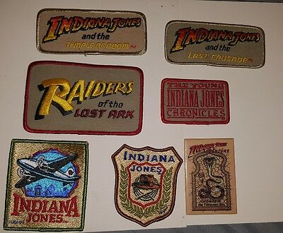 Rare Disneyland Indiana Jones Cast Member Patch And Pins Collection Rare Disney