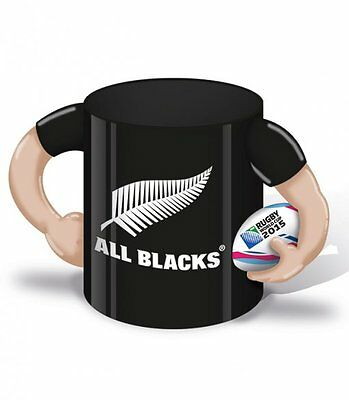 Rugby World Cup 2015 New Zealand All Blacks Player Ceramic Mug