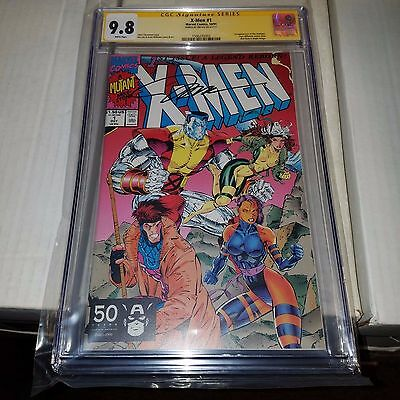X-Men #1 (1991), Gambit Cover, CGC SS Graded 9.8, Signed by Jim Lee