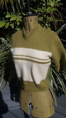 Vintage 1950s style jumper from original pattern