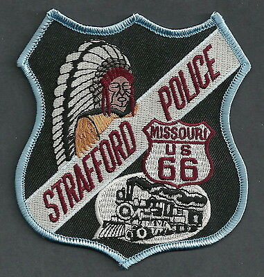 Strafford Missouri Police Patch Indian & Locomotive!