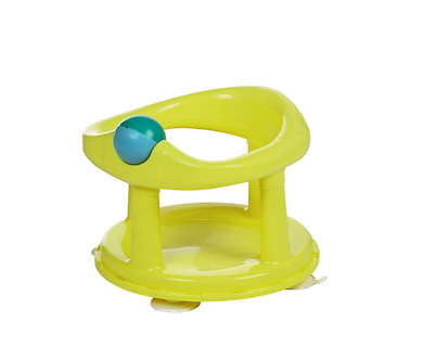 Safety 1st Swivel Bath Seat - Lime For Ages 6 - 12 Months NEW **FREE POST**