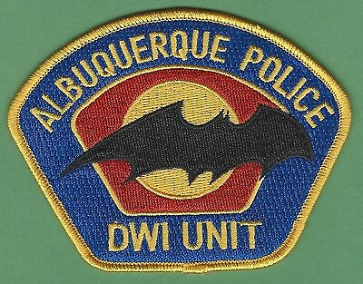 Albuquerque New Mexico Police Dwi Enforcement Patch Style 1