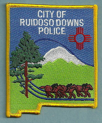 Ruidoso Downs New Mexico Police Patch
