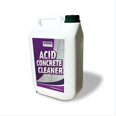 Boden Acid Concrete Floor Cleaner Clean Deep Stains From Concrete Good Dilution