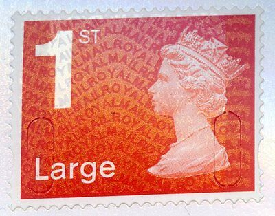 GB SINGLE 1st CLASS LARGE LETTER FORGERY SELF ADHESIVE STAMP, MNH