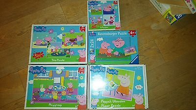 Peppa Pig Puzzles for +18 months, +3 and +4 years old