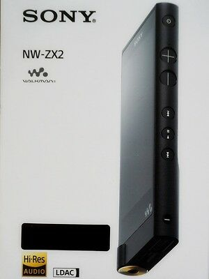 Sony Walkman NW-ZX2 High Res LDAC Android OS NFC Bluetooth wie neu mint like new