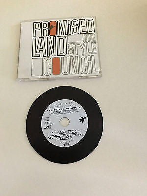The Style Council – Promised Land Ultra Rare CD Single Polydor – 871 471-2