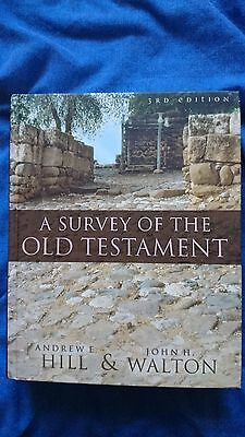 A Survey of the Old Testament by Andrew E. Hill, John H. Walton (Hardback, 2009)