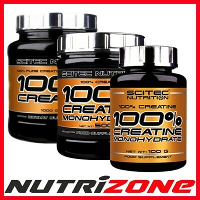 SCITEC NUTRITION 100% CREATINE MONOHYDRATE Powder Muscle Pump