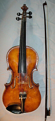 Antique VIOLIN ANTONIO STRADIVARIUS CREMONENSIS FACIEBAT 1721 GERMAN Circa 1900