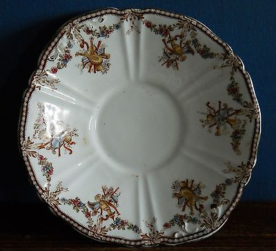 """An Antique Bone China Stand in hand coloured """"Louis XVI"""" by WA Adderley"""