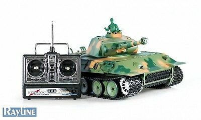 German Panther Type G RC Panzer 3879-1 Heng Long inkl. Rauch- und Sound 1:16 Neu