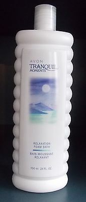 LOT OF 10  TRANQUIL MOMENTS RELAXATION FOAM BATH 700ml EACH