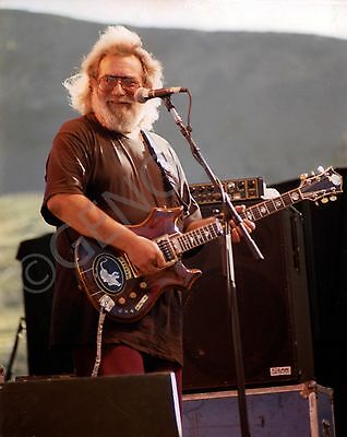 Jerry Garcia - Grateful Dead 16 x 20 inch Poster Size Photo - Live Concert 1991