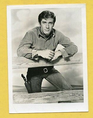 Original Vintage Robert Fuller Laramie Western Cowboy  Photo