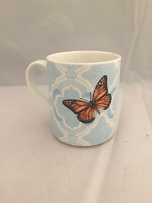 Lenox Butterfly Meadow Porcelain Coffee Mug 13 35