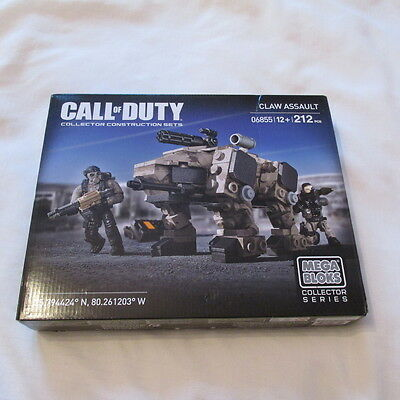 Mega Bloks Collector Series Call Of Duty 06855 New Sealed
