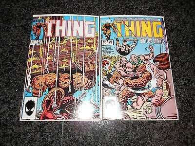 The Thing #19 - #27 (nine issue lot)