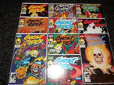 Ghost Rider #10 - #19 (ten issue lot)