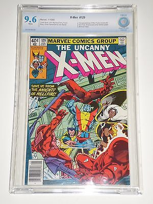 Uncanny X-men 129 CGCS Graded 9.6 (Similar to CGC) 1st Emma Frost, Kitty Pryde