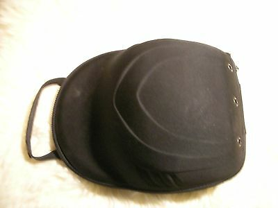 Pre-Owned Lids Fitted Hat Case Soft Shell StrapBack SnapBack Cap Protector Black