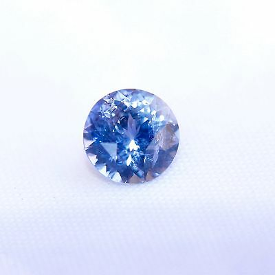 Natural Loose Blue Sapphire Round Cut 6 mm 1.05 carat