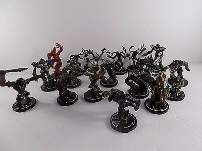 Mage Knight miniatures lot of 18