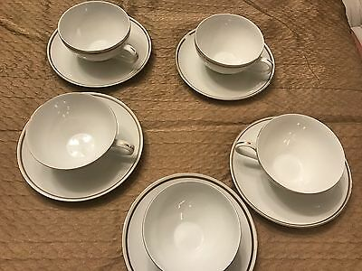 St. Regis Fine China 102- 5 cups and saucers- GREAT CONDITION