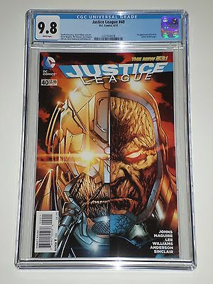 Justice League 40 (2015) CGC 9.8 1st Appearance of Grail (Darkseid's Daughter)