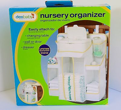 Nursery Organizer/Diaper Stacker Dexbaby - White