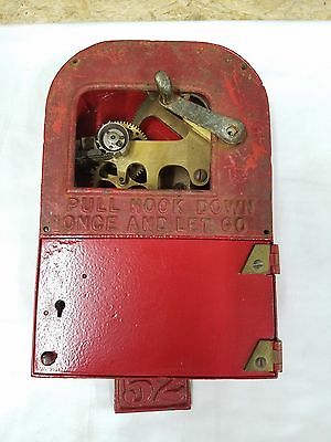 Sector #2 Mechanism Gamewell Fire Alarm Police Call Box Very Rare Fdny