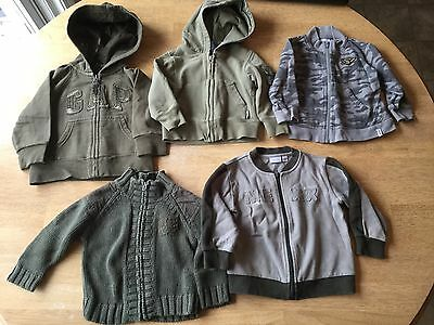 Baby Boy Sweater/Hoodie Lot (12-18 months)