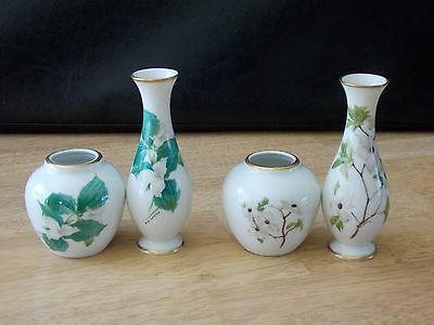 Design by G. Loates Trillium/Dogwood Decor Made in West Germany 4 Pieces