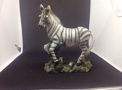 Ceramic African Safari Zebra Figurine