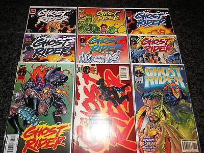 Ghost Rider #69 - #77 (nine issue lot)