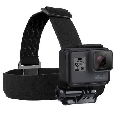 PULUZ Elastic Mount Adjustable Head Strap for GoPro HERO5 4 3 + 2 1 + LCD New