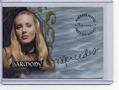 Buffy The Vampire Slayer Season 4 Autograph Card A20 Mercedes McNab as Harmony