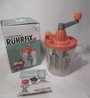 °°°°  Original Rührfix Modell B 1 Liter / Orange  °°°° Hhj